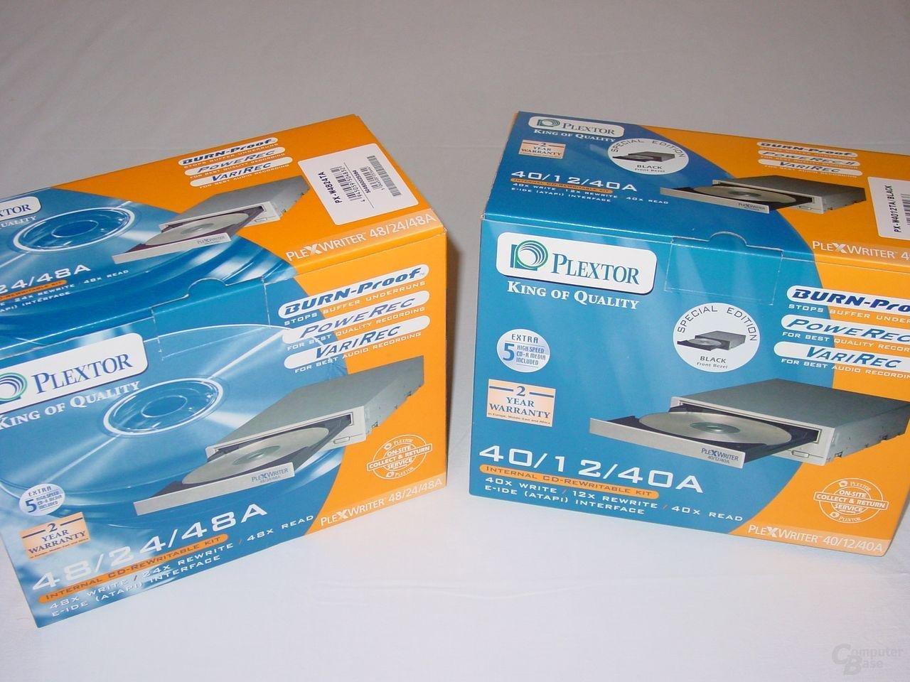 Verpackungen PX-4824TA und PX-4012TA