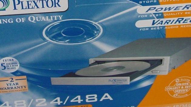 Plextor PX-W4824TA und PX-W4012TA im Test: 48x oder 40x, wie schnell muss es sein?