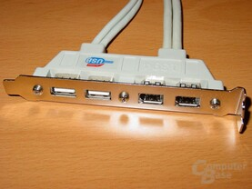 USB-Firewire-Blende - 2