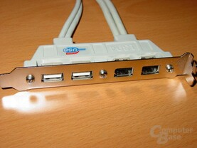 USB-Firewire-Blende