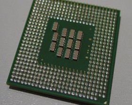 Intel Celeron 2 GHz von unten