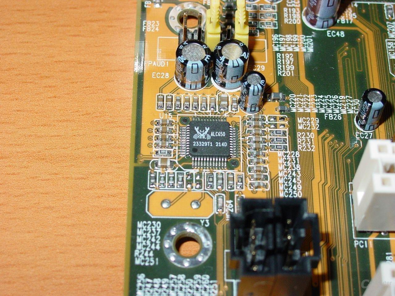 Realtek ALC650 Soundchip