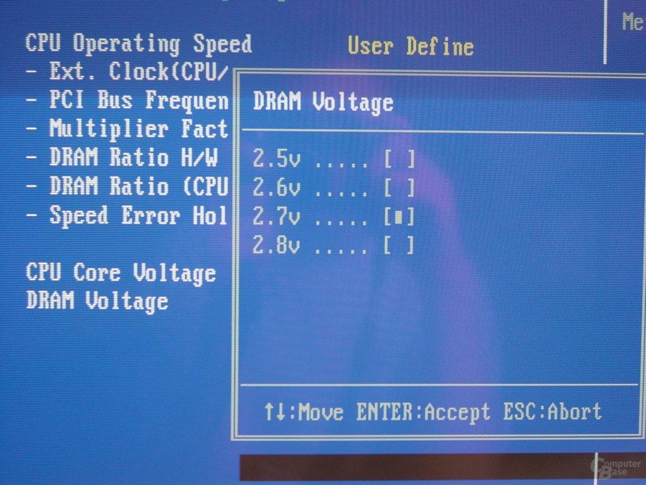 Biso - DRAM Voltage
