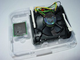 Intel Pentium 3066 MHz in a Box göffnet