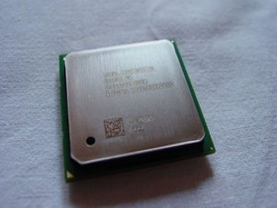 Intel Pentium 4 mit Hyper-Threading von oben
