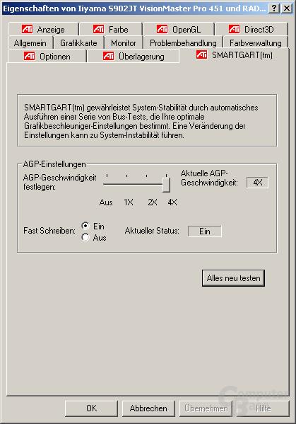 Treiber - SmartGART