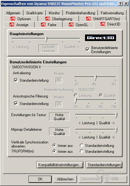 Treiber - Direct3D
