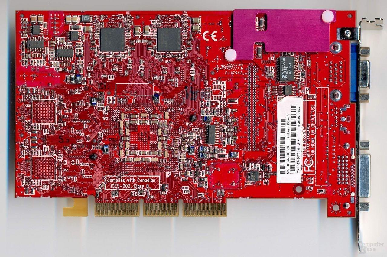 Sapphire Radeon9500 Rückseite
