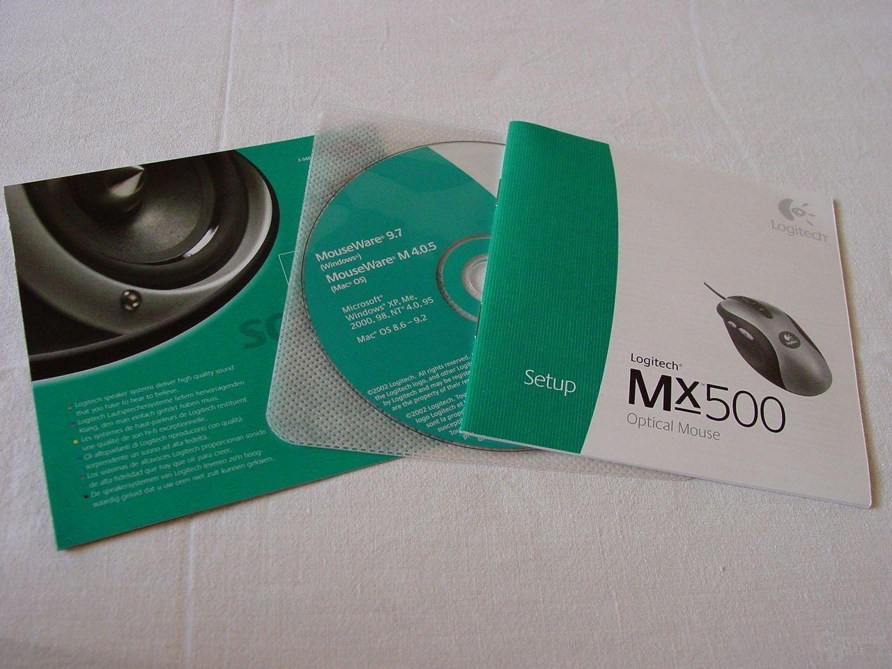 MX 500 - Verpackungsbeilage