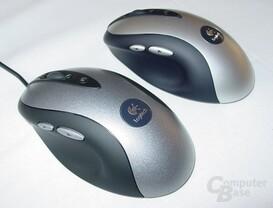 MX 500 und MX 700 nebeneinander von Links