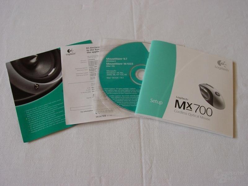 MX 700 - Verpackungsbeilage