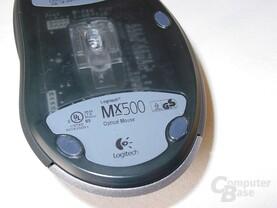 MX500 nochmal von Unten