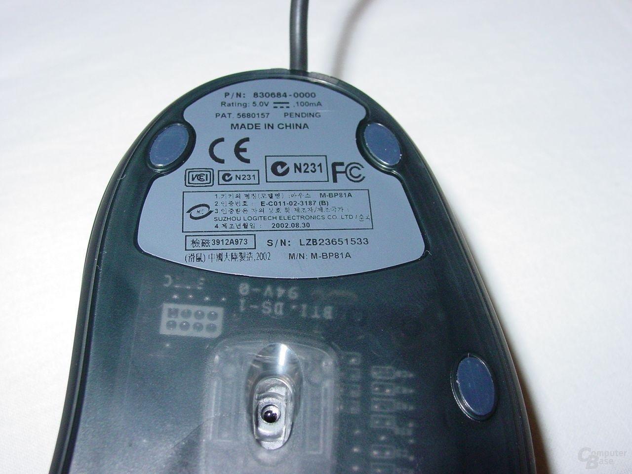 MX 500 opt. Sensor