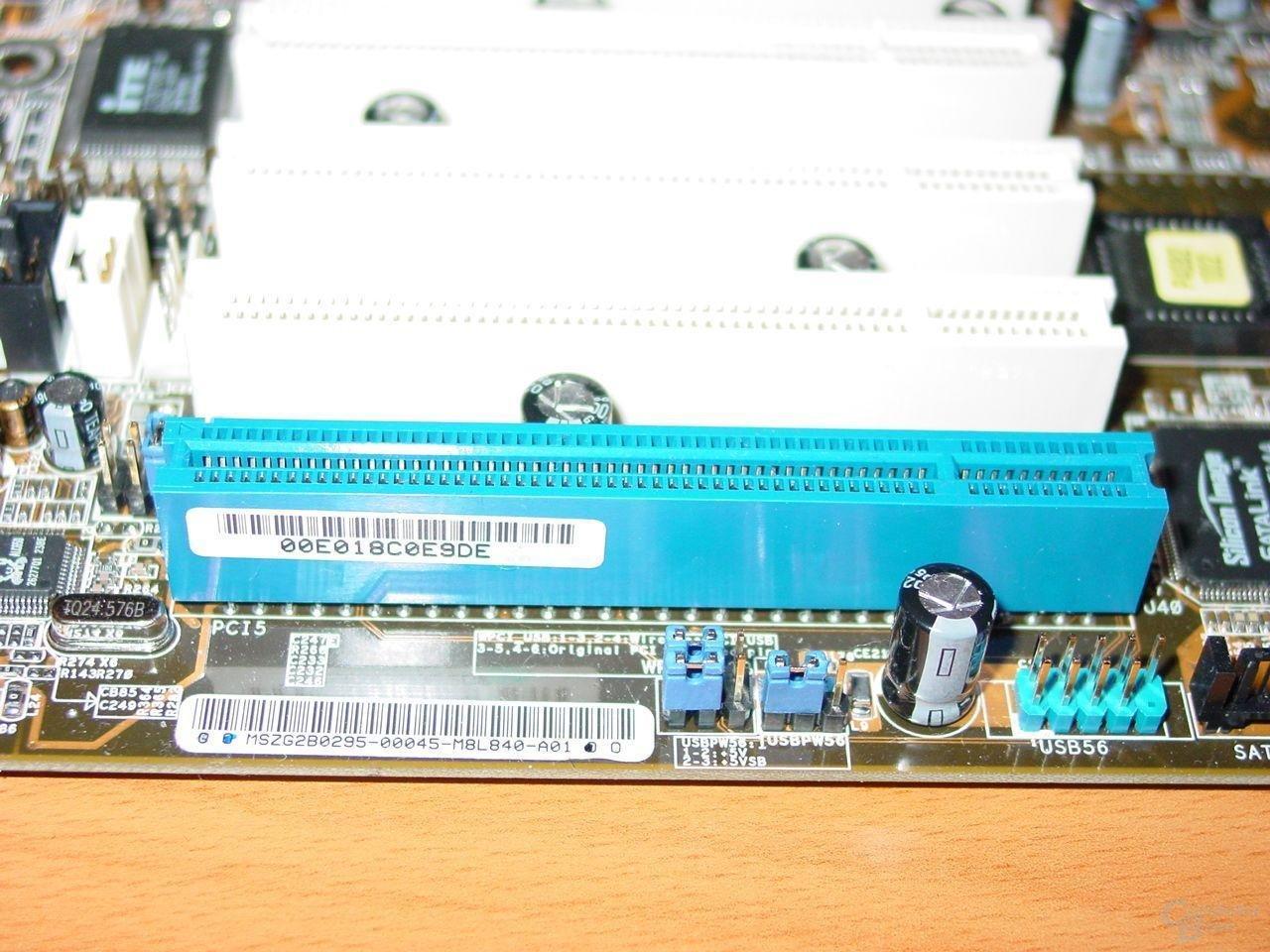 BlueMagic PCI Slot