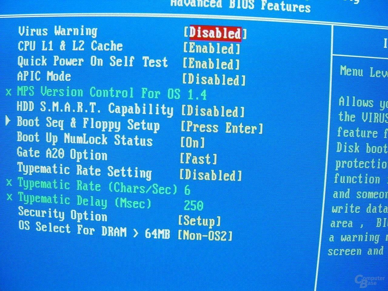 EP-4GEAEI - BIOS - Advanced