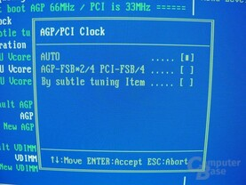 EP-4GEAEI - BIOS - AGP-PCI-Clock