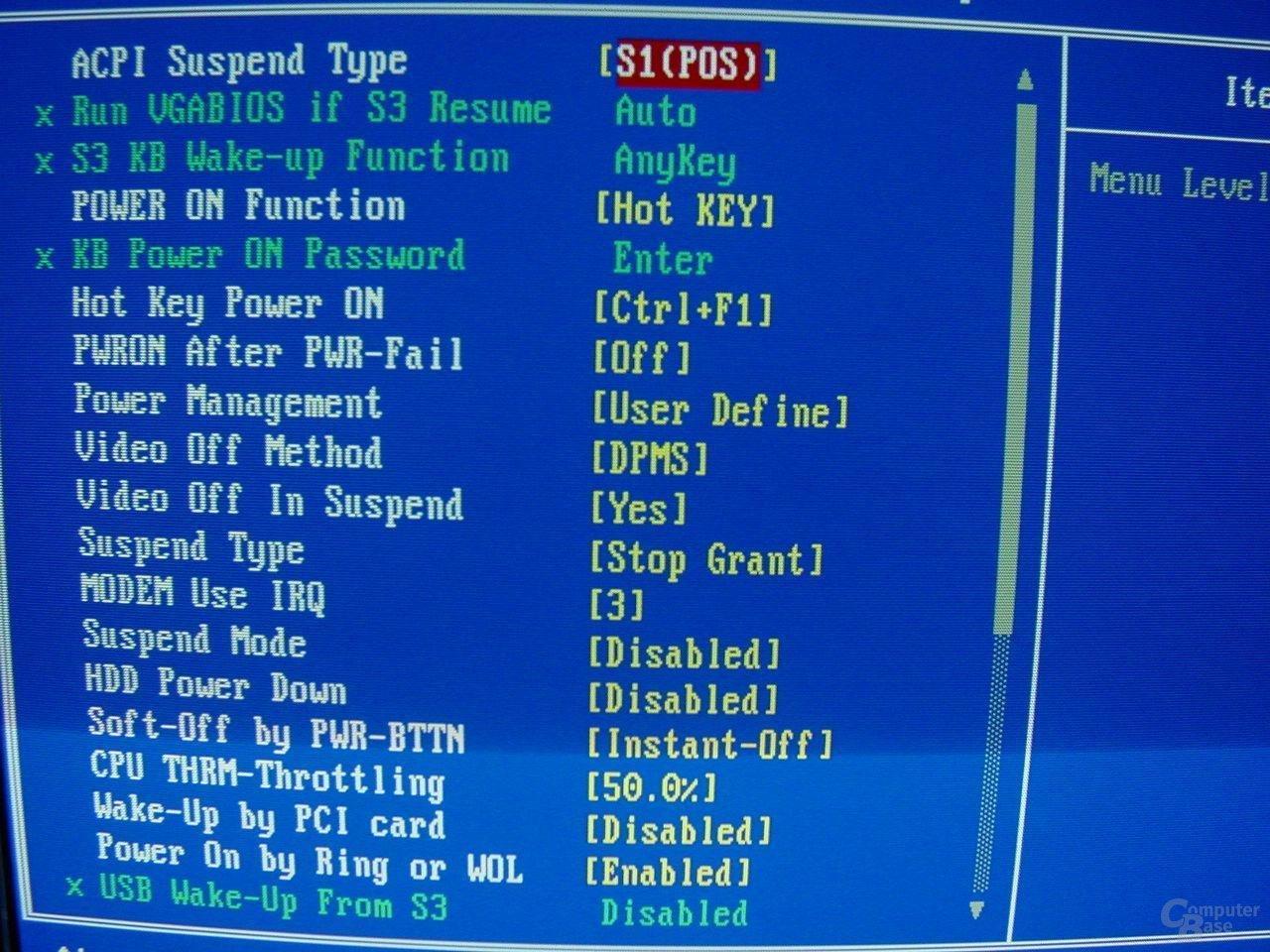EP-4GEAEI - BIOS - Features