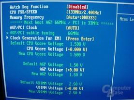 EP-4GEAEI - BIOS - Voltages
