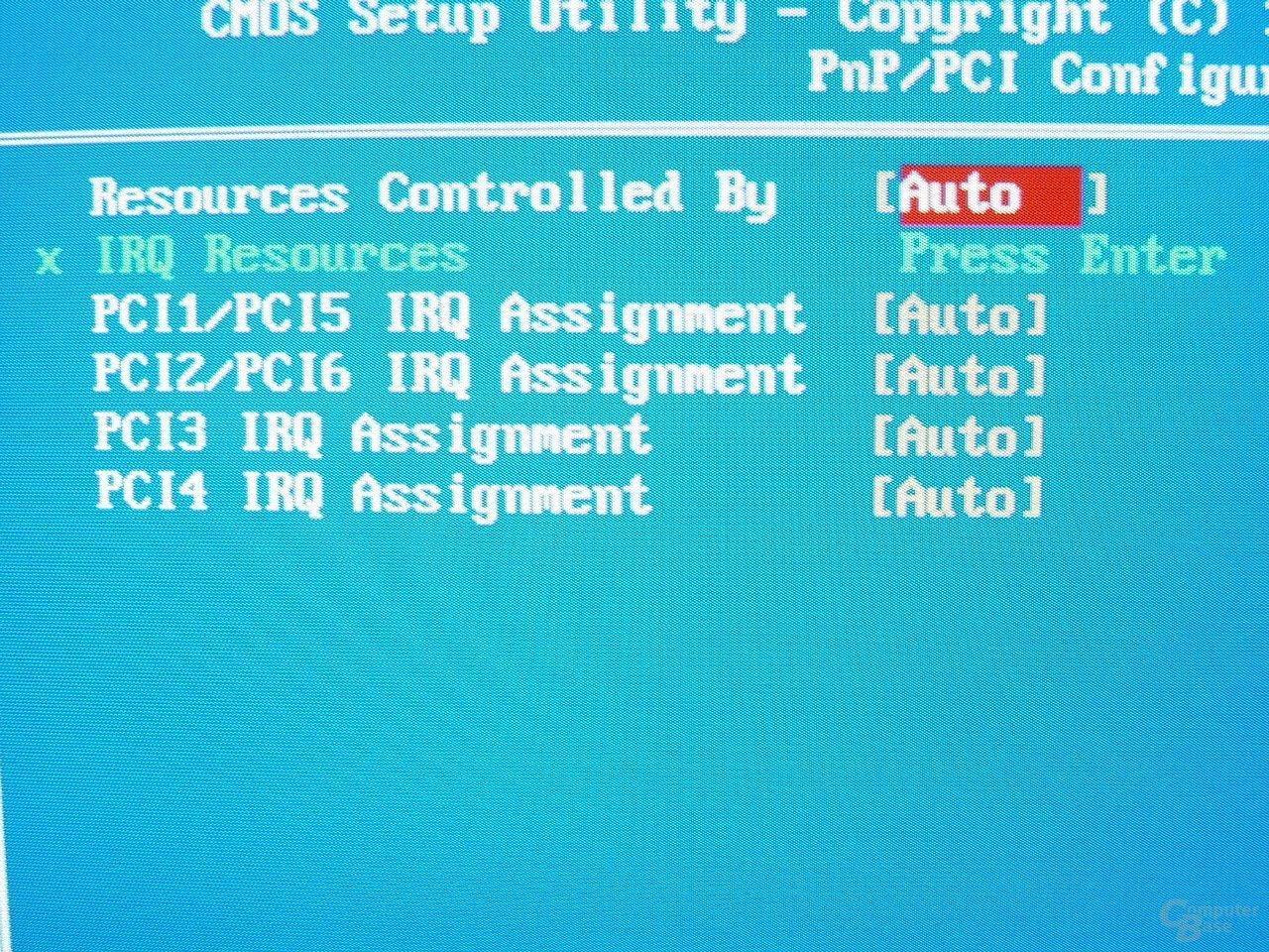GA-8PE667 Ultra 2 - BIOS - IRQ