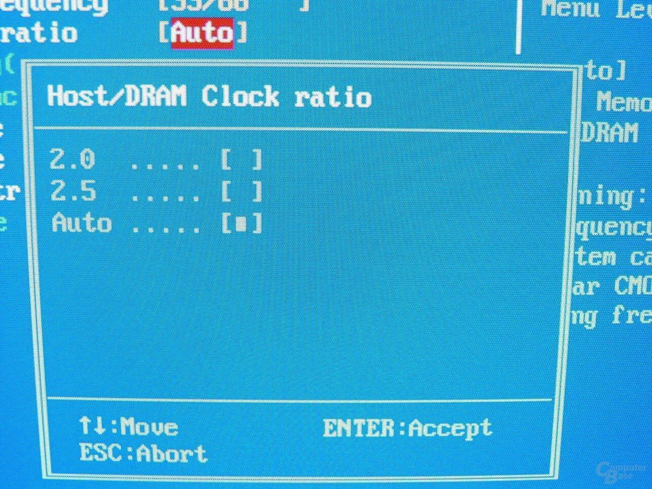 GA-8PE667 Ultra 2 - BIOS - MEmory-MHz
