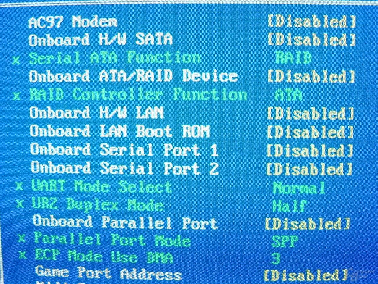 GA-8PE667 Ultra 2 - BIOS - Onboard