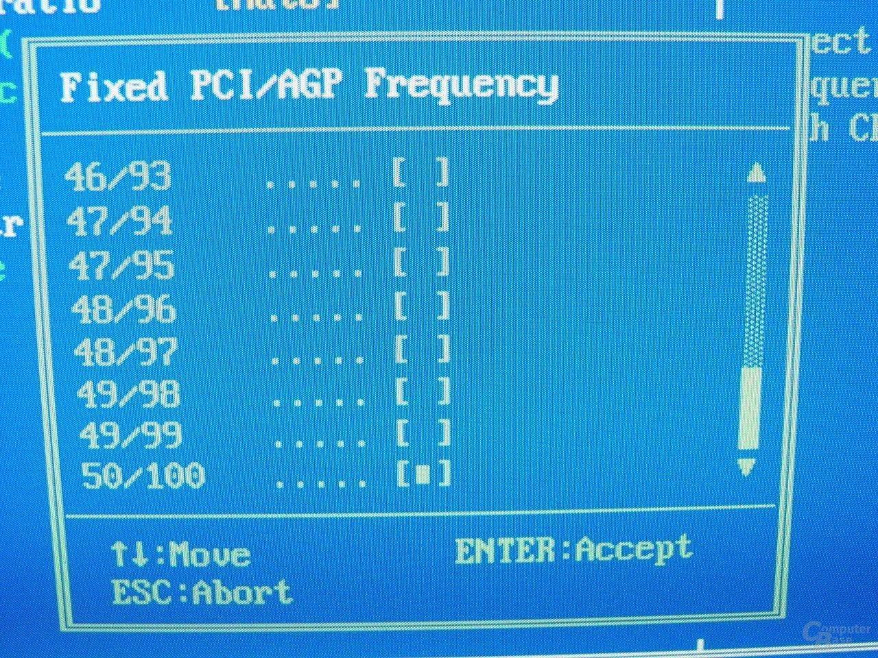 GA-8PE667 Ultra 2 - BIOS - PCi-AGP-Fix2