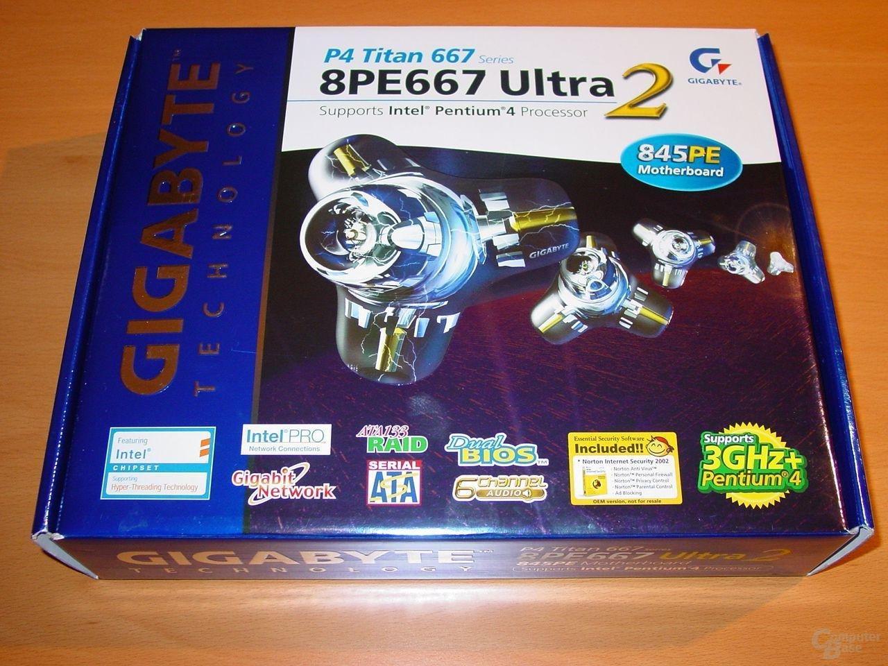GA-8PE667 Ultra 2 - Box