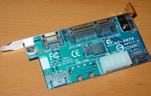 GA-8PE667 Ultra 2 - SATA-Karte 1