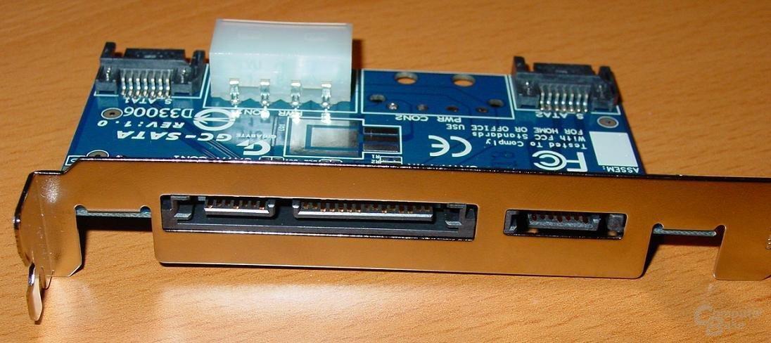 GA-8PE667 Ultra 2 - SATA-Karte 2