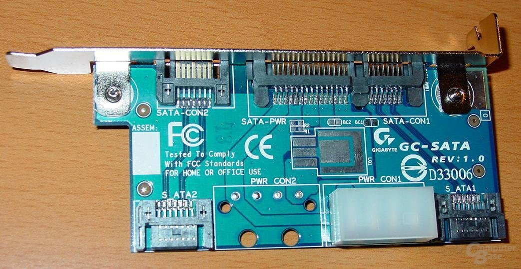 GA-8PE667 Ultra 2 - SATA-Karte 4