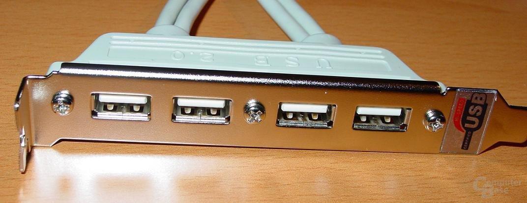 GA-8PE667 Ultra 2 - USB-Modul