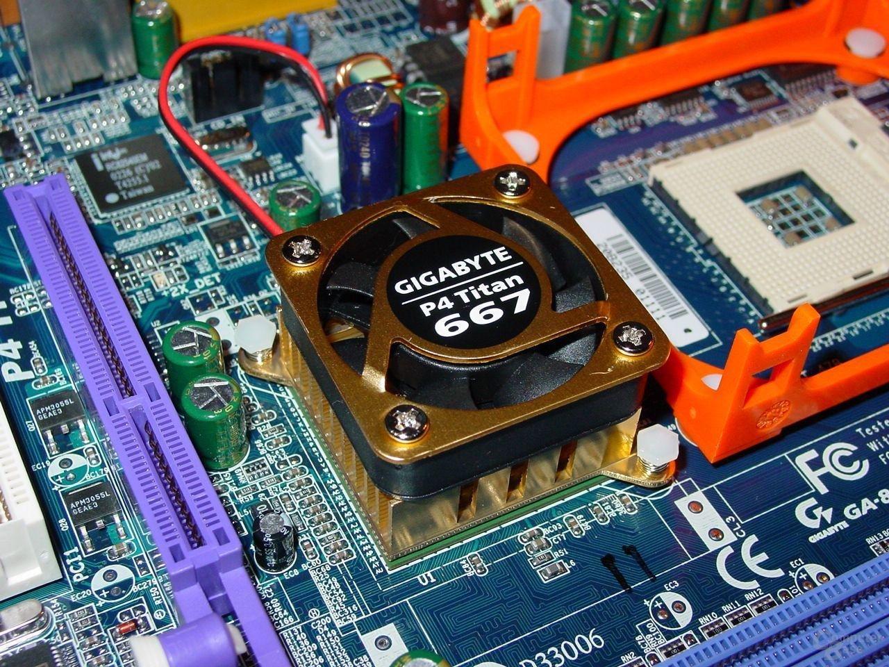 GA-8PE667 Ultra 2 - Kühler
