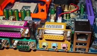 GA-8PE667 Ultra 2 - Anschlüsse Sound