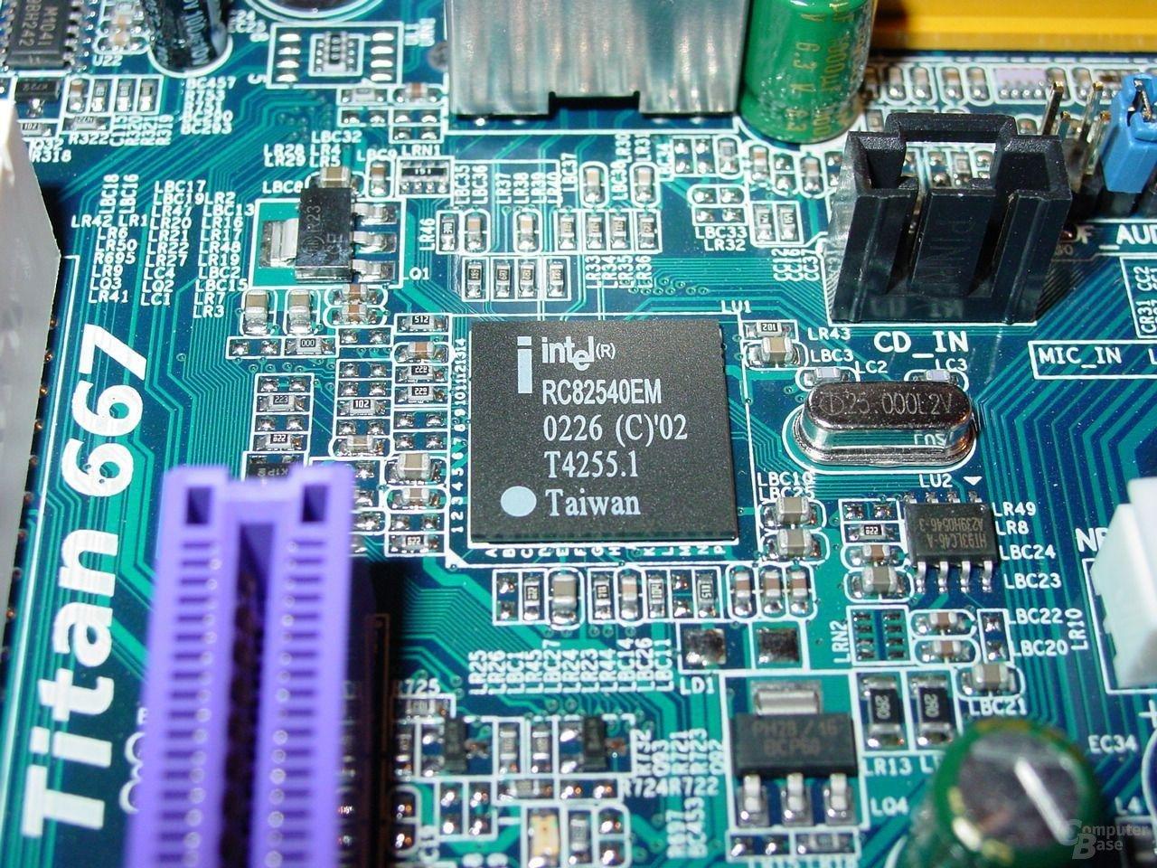 GA-8PE667 Ultra 2 - Intel LAN