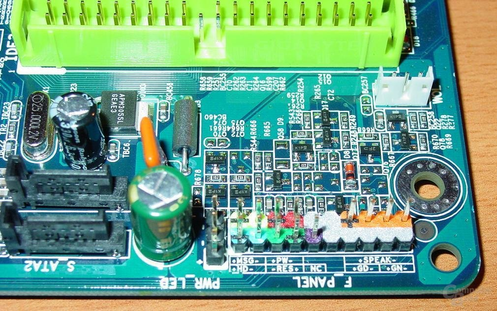 GA-8PE667 Ultra 2 - Connections