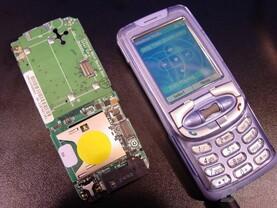 Handyprototyp mit Xscale PXA262