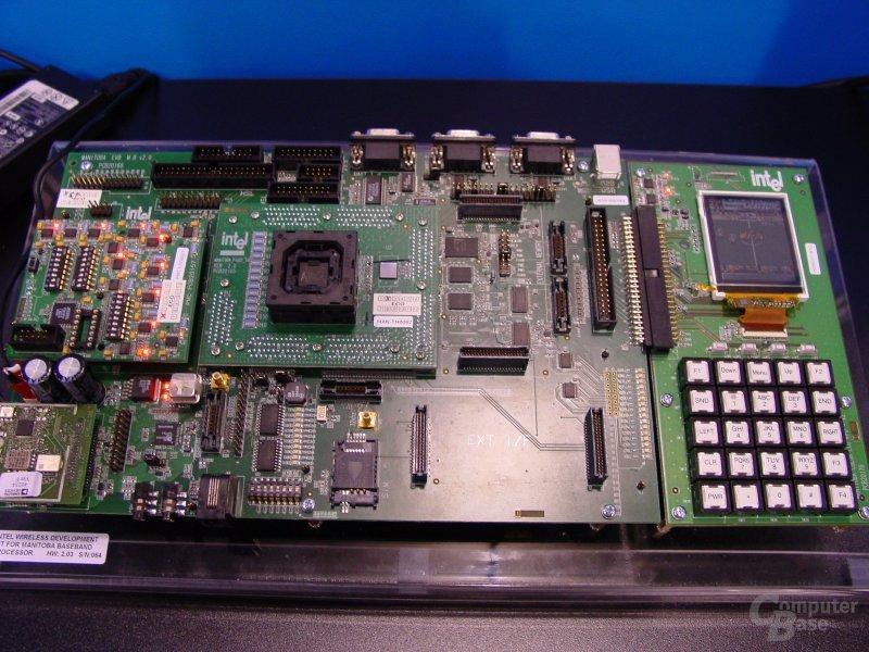 Allround-Chips PXA800F Entwicklungsplatine