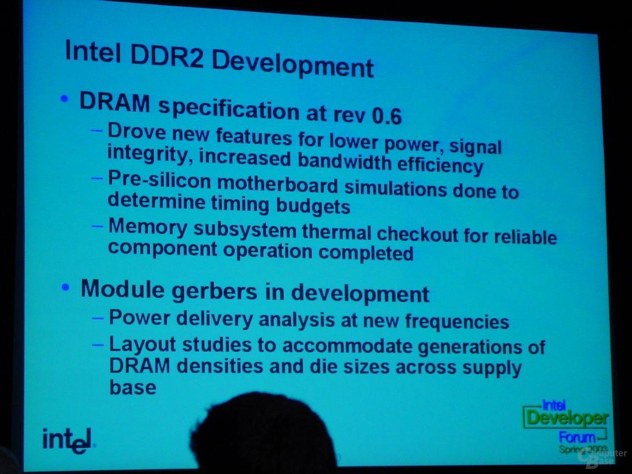 DDR2 Entwicklung