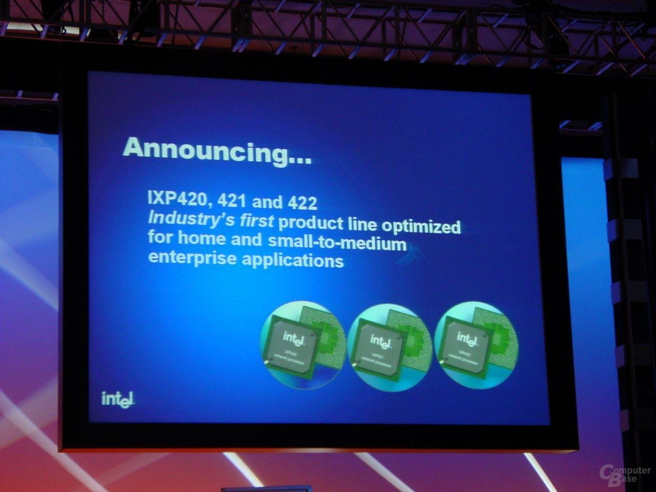 Neue Network Prozessoren