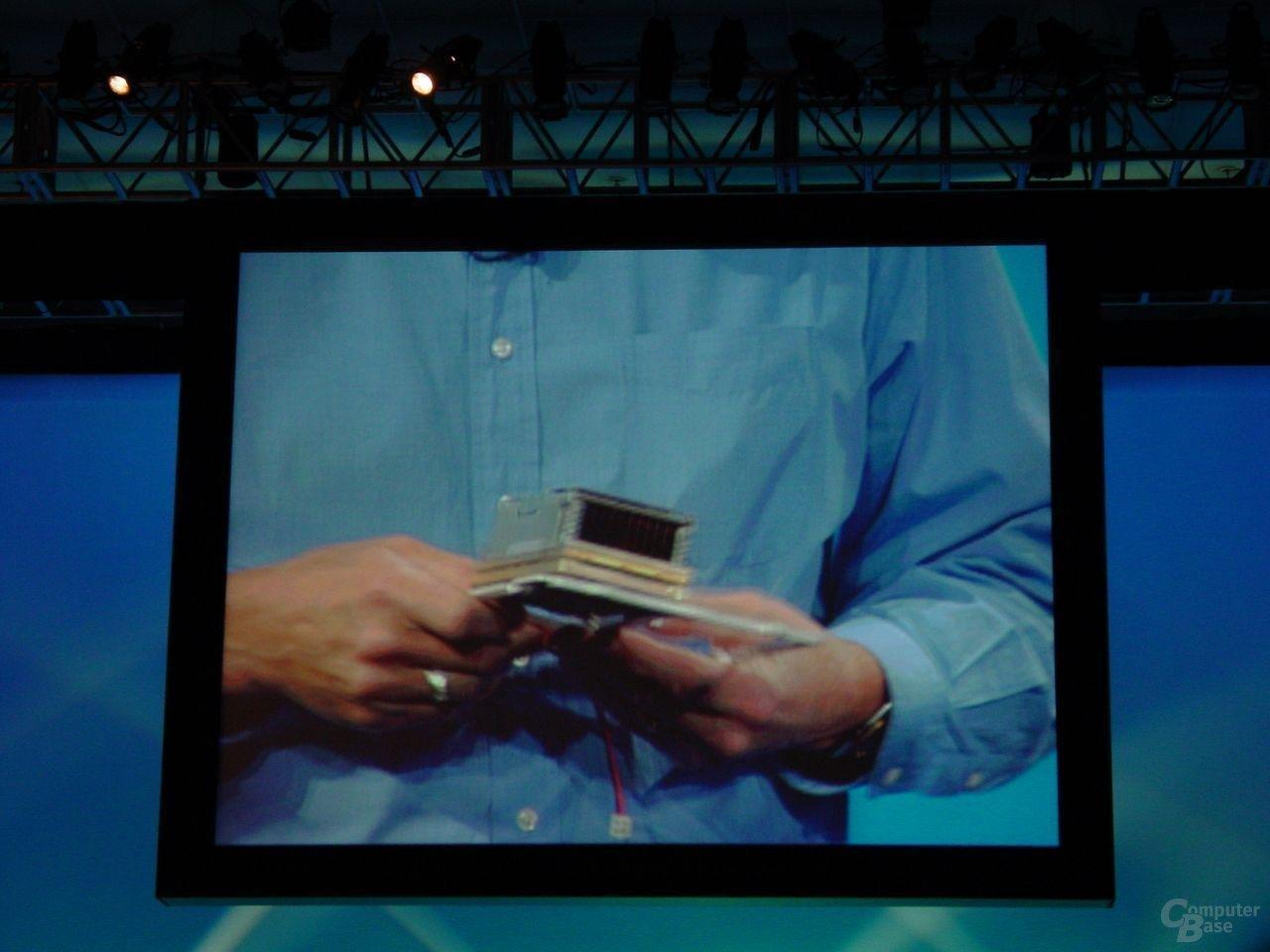 Itanium von HP mit zwei Madisons