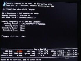 Barton übertaktet auf 2,30 GHz mit FSB400