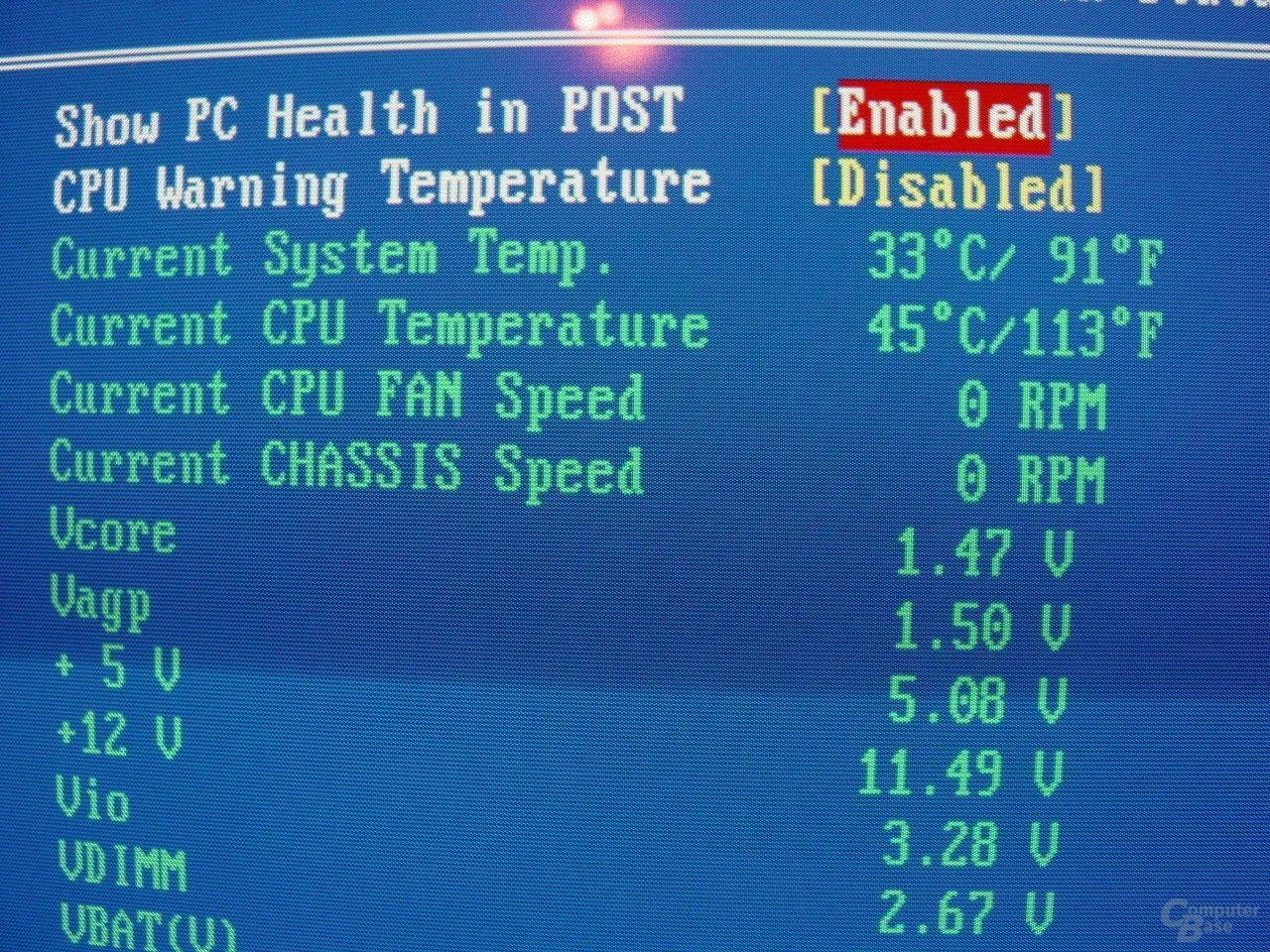EPoX EP-4SDA5+ - Bios - Health