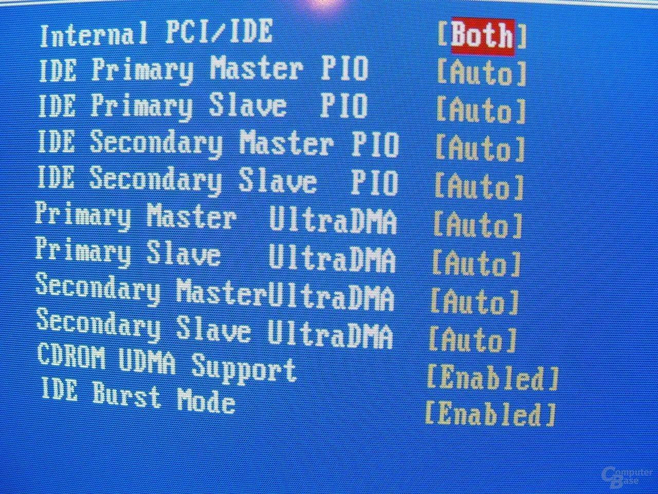 EPoX EP-4SDA5+ - Bios - IDE-Konfiguration