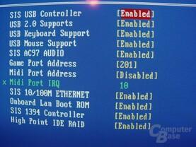 EPoX EP-4SDA5+ - Bios - Onboard Komponenten