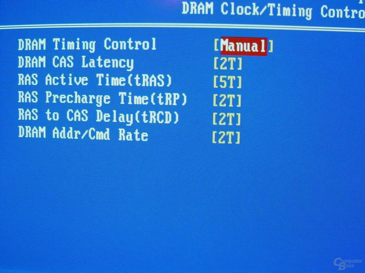 EPoX EP-4SDA5+ - Bios - RAM-Timings