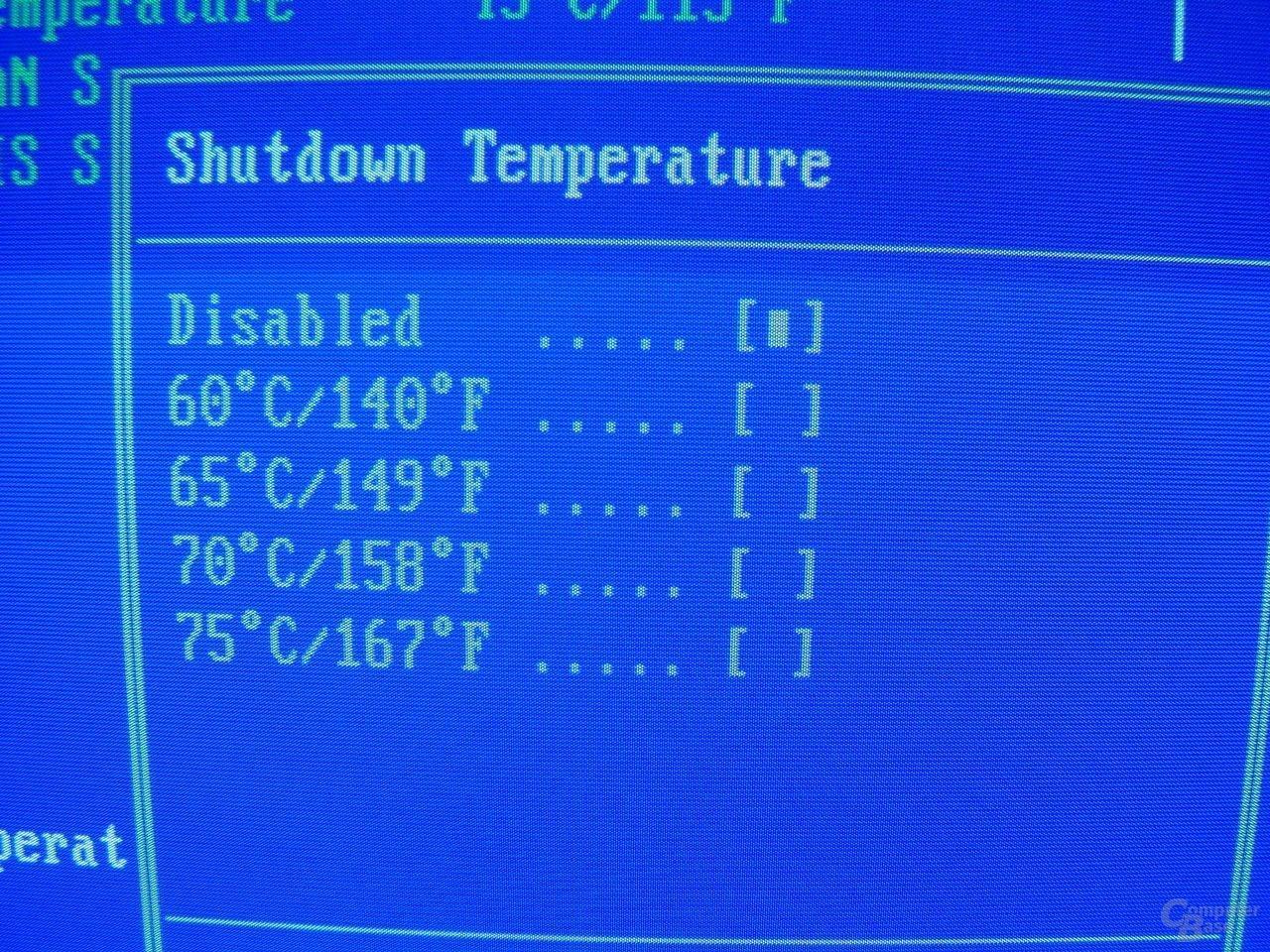 EPoX EP-4SDA5+ - Bios - Shutdown Temp