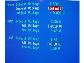EPoX EP-4SDA5+ - Bios - Voltages