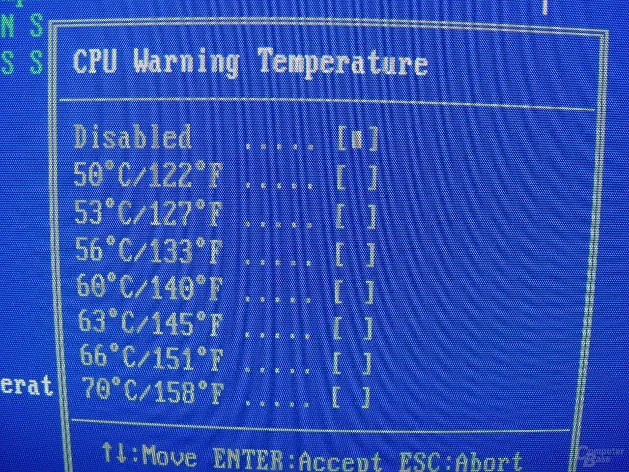 EPoX EP-4SDA5+ - Bios - Warning Temp
