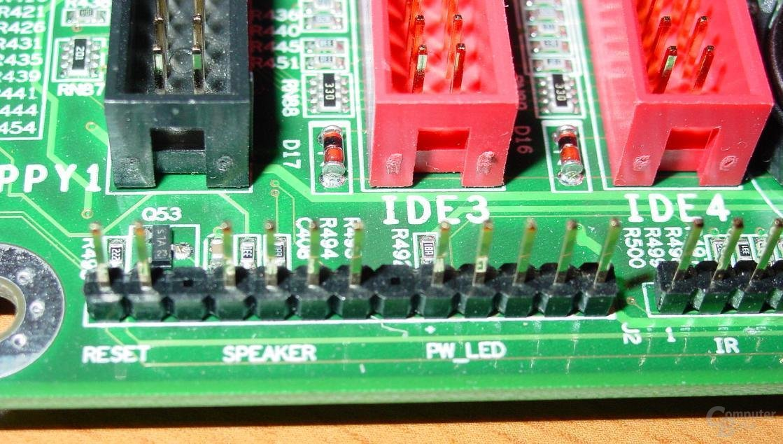 EPoX EP-4SDA5+ - Connectors
