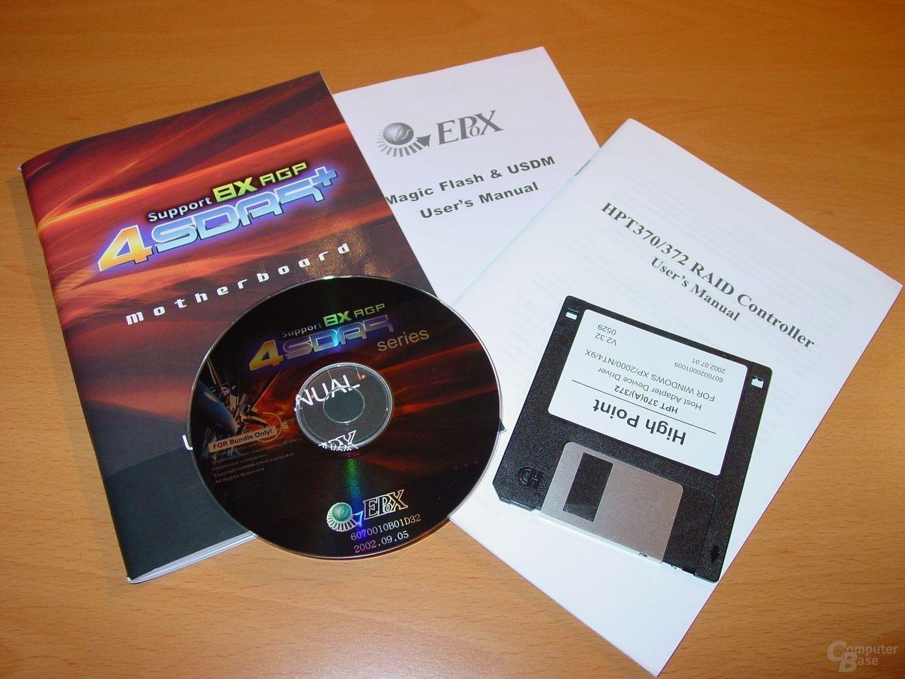 EPoX EP-4SDA5+ - Dokumentation